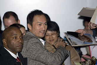 Ken Watanabe - Watanabe leaving after a press conference in Berlin for Letters from Iwo Jima in February 2007