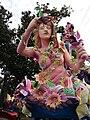 Float Woman Flowers Mardi Gras 2009.jpg