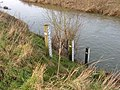 Flood indicators at Stile Bridge - geograph.org.uk - 328577.jpg