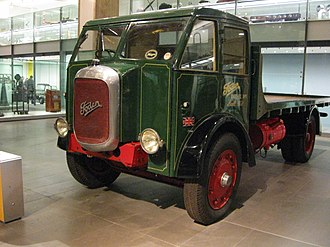 Edwin Foden, Sons & Co. - Foden F1 1931 diesel, on display at the Science Museum (London)