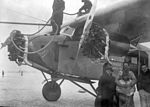Fokker Tri-motor Airplane assembled at St. Hubert and flown to Winnipeg by Leigh Brintnell (26685907574).jpg