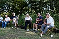 Folk musicians at Copsale Hall, Nuthurst, West Sussex, England 02.jpg