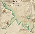Fond de la baie d'Hudson avec les fort anglais pris par les Français en 1686.jpg