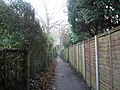 Footpath through to Wade Court Road - geograph.org.uk - 640823.jpg