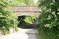 Footpath under railway bridge - geograph.org.uk - 465721.jpg