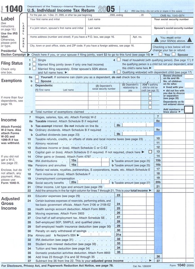 Selecting the most appropriate IRS form 1040 to record 2013 tax returns