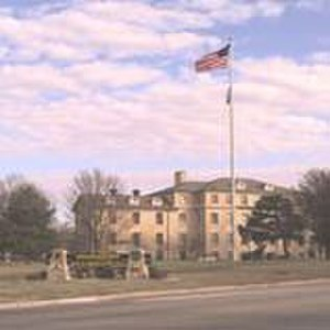 Fort Riley - Fort Riley's former division headquarters and current garrison headquarters