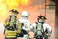 Fort Bragg firefighters train on burning plane 120606-A-IA524-645.jpg