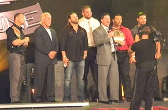 Doug Williams (wrestler) - Williams with Fortune in August 2010.