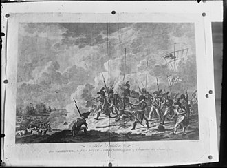 Battle of Callantsoog - Landing of the British, August 27, 1799