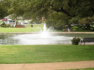 University of Mary Hardin–Baylor - Image: Fountain, UMHB, Belton, TX IMG 5555