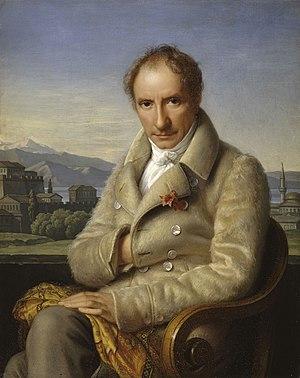 François Pouqueville - François Pouqueville  in front of Ioannina (Collection du Chateau de Versailles)