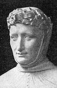 Statue de Pétrarque