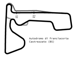 Franciacorta International Circuit layout.png
