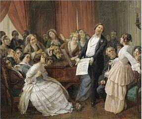 Triomphe d'un Ténor dans une Matinée Musicale
