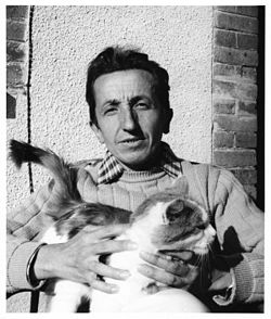 Francois Fiedler Portrait With Cat.jpg