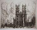 Frank Boggs, Westminster, vers 1906, Musée d'art et d'histoire de la ville de Meudon.jpg
