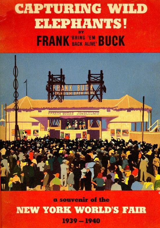 Frank Buck's Jungleland (souvenir booklet)
