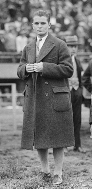 Frank Hussey - Hussey at the 1924 Olympics