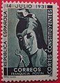 Franquicia postal Cortes Constituyentes, República Española, 1931 - 3.jpg