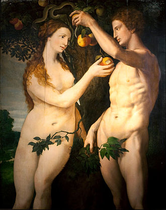 Frans Floris - The Fall of Man