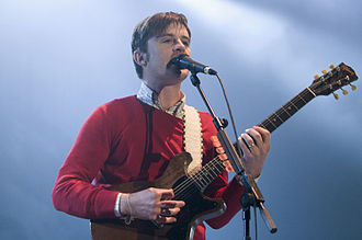 Nick McCarthy - Nick McCarthy performing 2008 with Franz Ferdinand