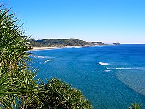 Fraser Island from the Indian Head