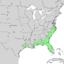 Fraxinus caroliniana range map 2.png