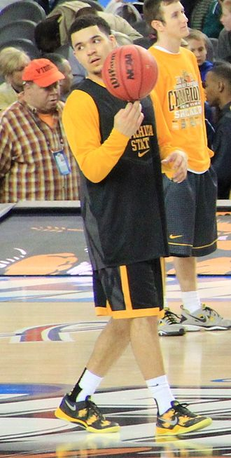 Missouri Valley Conference Men's Basketball Player of the Year - Fred VanVleet, the 2014 and 2016 winner from Wichita State University.
