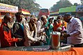 Free Tea Distribution - Gangasagar Fair Transit Camp - Kolkata 2016-01-09 8489.JPG