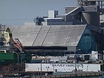 Freighter Whistler moored at the Redpath Sugar Refinery, 2013 05 02 -b.JPG