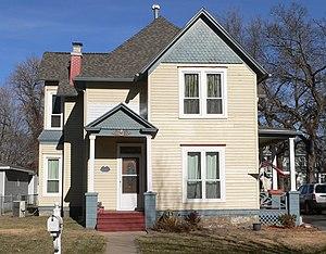 National Register of Historic Places listings in Dodge County, Nebraska - Image: Fremont, Nebraska 736 E. Military Ave