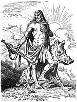 Freyr by Johannes Gehrts