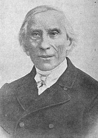 Old Lutheran free church leader Friedrich August Brunn sent about 235 men to serve as pastors in the Missouri Synod. Friedrich August Brunn.jpg