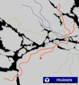 Fruängen metro station