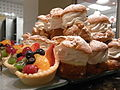 Fruit Tarts and cream puffs (4043041726).jpg