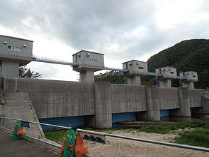 Fudai, Iwate - Fudai Floodgate