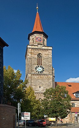 Fuerth Turm St Michael
