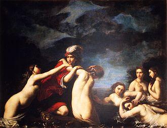 Francesco Furini - Hylas and the Nymphs, 1630, Palazzo Pitti