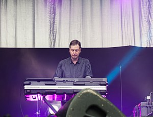 Future Islands - Keyboardist Gerrit Welmers at the Kosmonaut Festival (2015)
