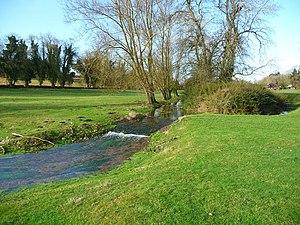 Pillhill Brook - Pillhill Brook at Fyfield