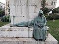 Géza Gárdonyi monument, boy and mother, 2018 Lágymányos.jpg