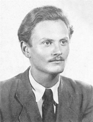 Árpád Göncz - Árpád Göncz around 1943