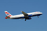 G-TTOE - A320 - British Airways