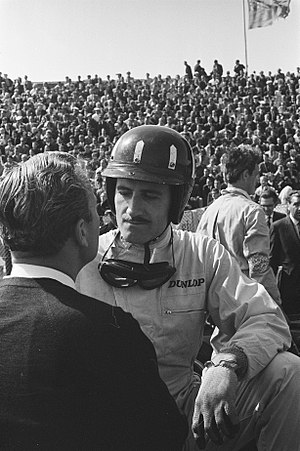 1962 Formula One season - Briton Graham Hill (pictured in 1963) won his first Drivers' Championship, driving for BRM