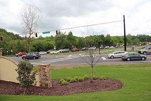 Georgia State Route 400 - Georgia 400's northern terminus in Lumpkin County