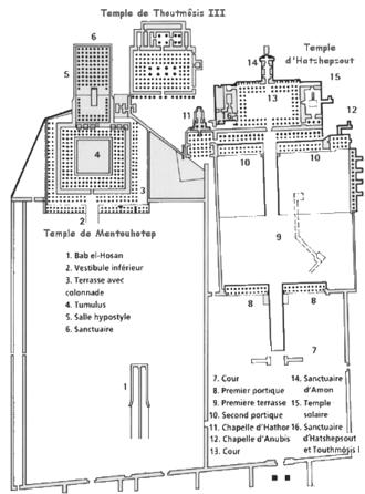 Deir El Bahari Wikipedia La Enciclopedia Libre
