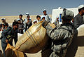 GIs distribute food aid, Logar Province.jpg