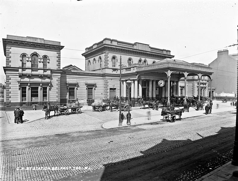 File:GNR (i.e. Great Northern Railway) Station, Belfast (33983057401).jpg