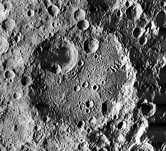 Gagarin (crater) - Image: Gagarin crater 1115 med